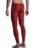 MANSTORE M2005: Bungee Leggings, rot/schwarz