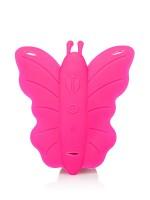Remote Venus Penis: Vibro-Plug mit Strap-On, pink