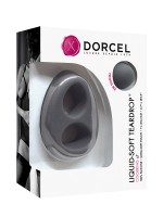 Dorcel Liquid-Soft Teardrop: Penisring, grau