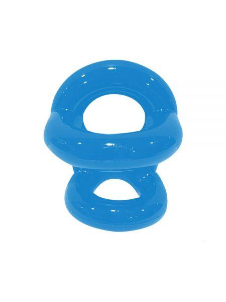 Sport Fucker Fucker Ring: Penis-/Hodenring, police blue