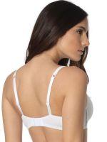 Sassa Stripe Range: Soft-BH, weiß