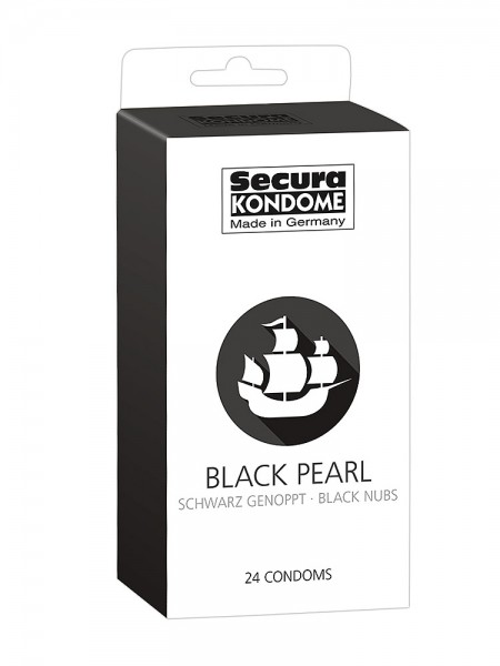 Secura Black Pearl: Kondome, 24er Pack