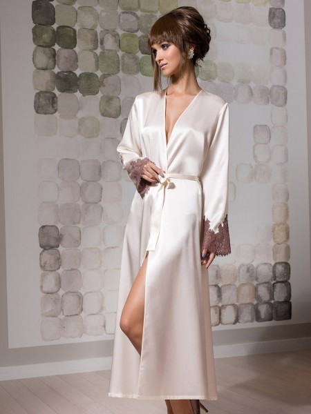 COEMI Carrie: Kimono, cream/toffee