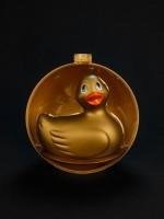 I Rub my Duckie Holiday, gold