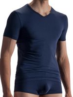 Olaf Benz RED1863: V-Neck-Shirt, night