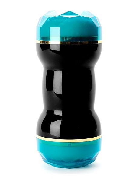 Onagem Tiffany: Masturbator, schwarz/blau/haut