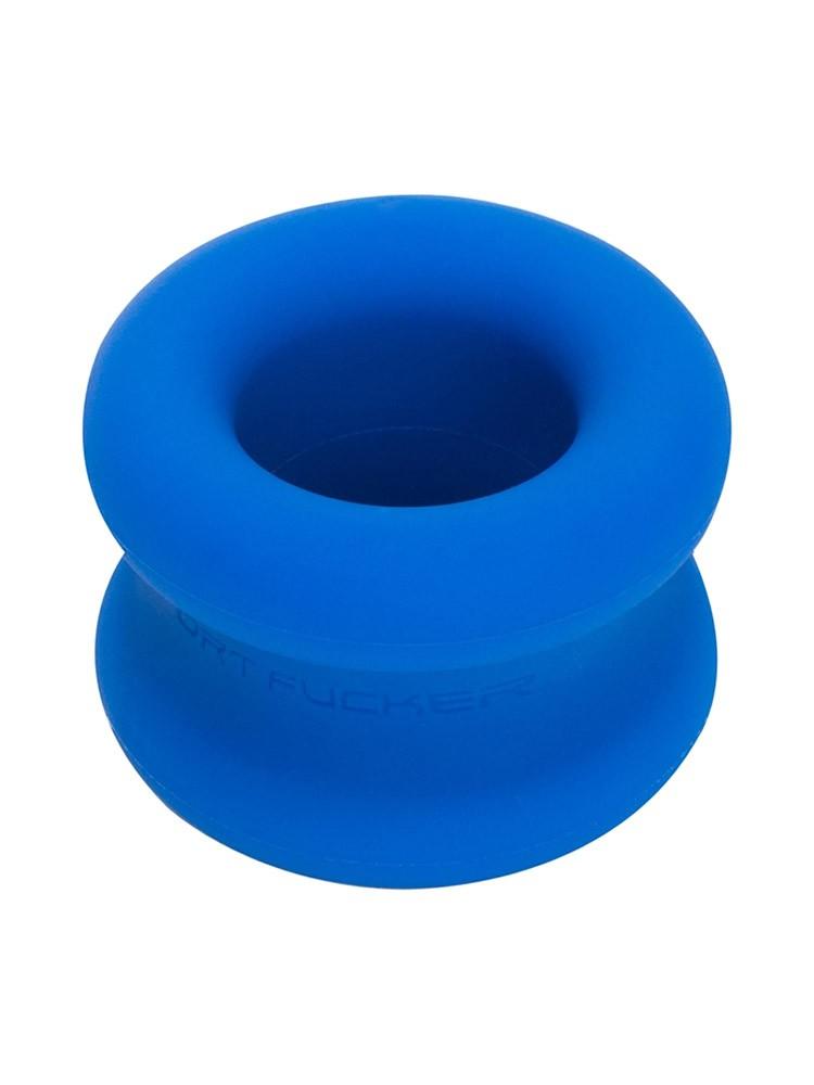 665 Inc. Sport Fucker Muscle Ball Stretcher: Hodenstretcher, blau