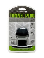 Perfect Fit Tunnel Plug L: Analtunnel, schwarz