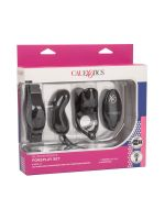 Silicone Remote Foreplay Set: Partnertoyset, schwarz