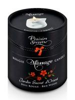 Plaisirs Secrets: Massagekerze Red Wood (80ml)