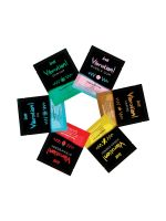 intt Liquid Vibration Six Flavor Mix: 12 Intimgel-Sachets (12x je 5ml)