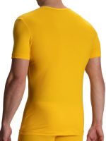 Olaf Benz RED1601: V-Neck-Shirt, gelb