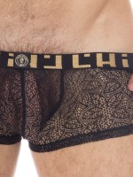L'Homme Axel: Push-Up Hipster, schwarz