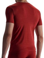 Olaf Benz RED1863: V-Neck-Shirt, rot