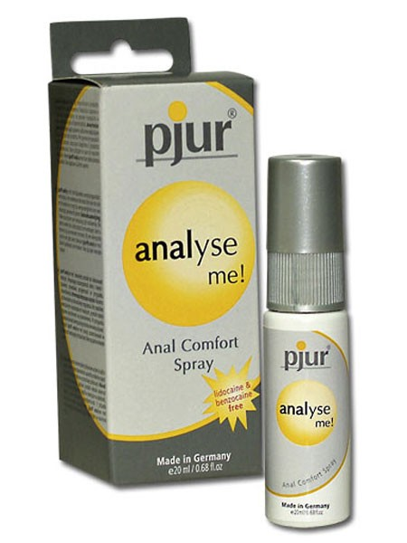 Gleitgel: pjur Analyse me! Anal Comfort Spray (20ml)