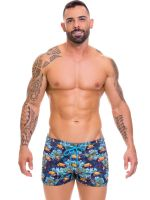 JOR Tropical: Bademinishort, blau
