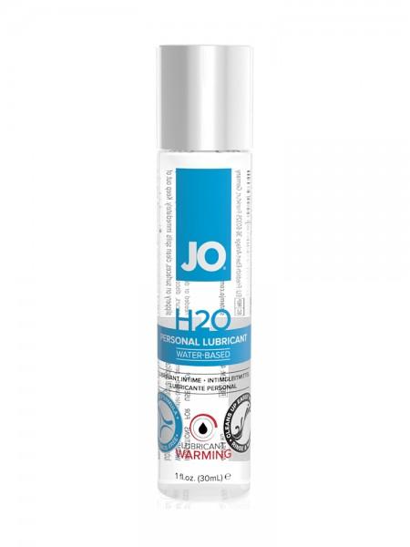 Gleitgel: Jo H2O Waterbased Warming (30ml)