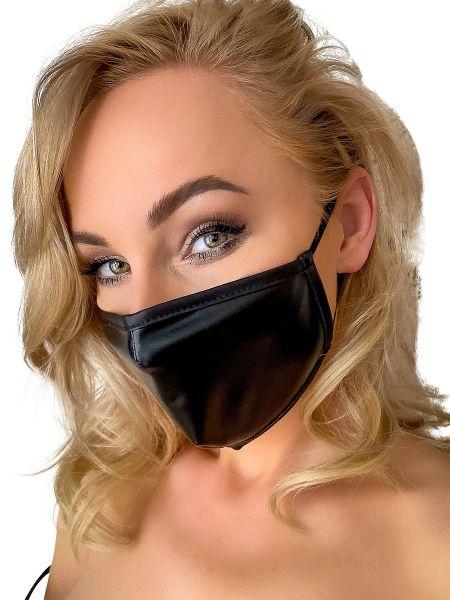 Noir Handmade: Maske, schwarz