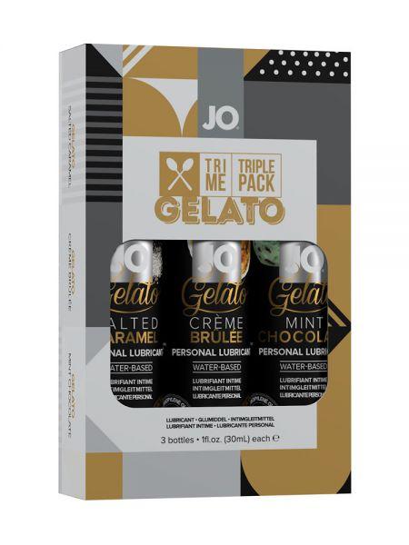 System JO Tri Me Gelato: 3er Pack Gleitgel (3x 30ml)