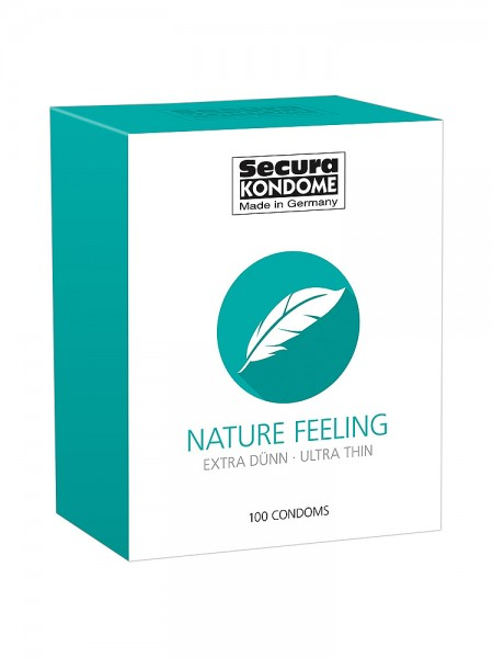 Secura Nature Feeling: Kondome, 100er Pack