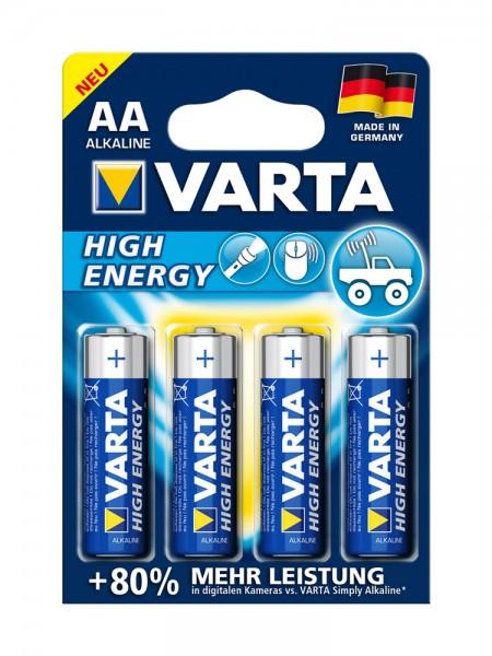 Mignon-Batterie (1,5V AA), 4er Pack